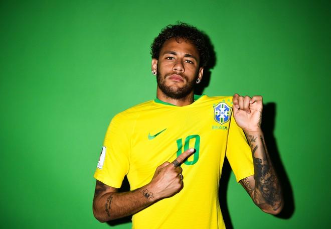 Ảnh chân dung cực nét của Ronaldo, Messi, Neymar và các ngôi sao lớn nhất World Cup 2018 - ảnh 5