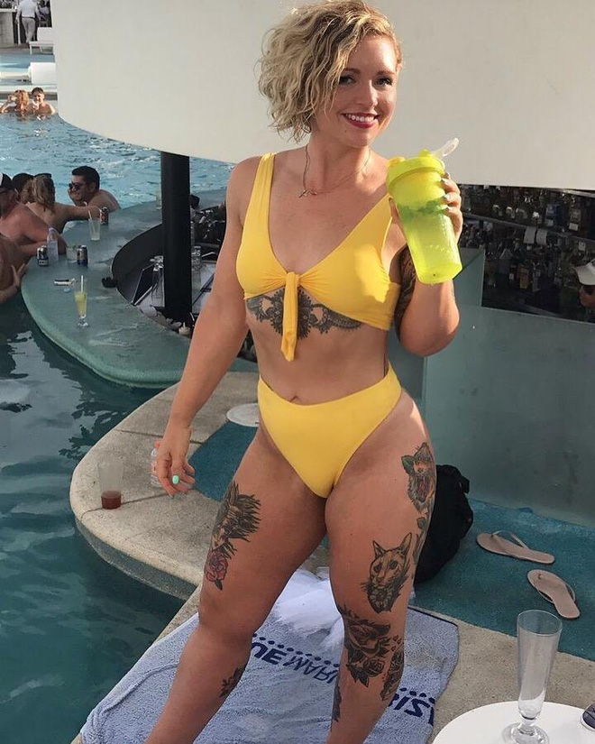 Bộ bikini chỉ 300k mà béo gầy mặc đều đẹp này đang gây sốt trên Amazon, chị em thi nhau khoe ảnh người thật việc thật vì quá hài lòng - Ảnh 5.