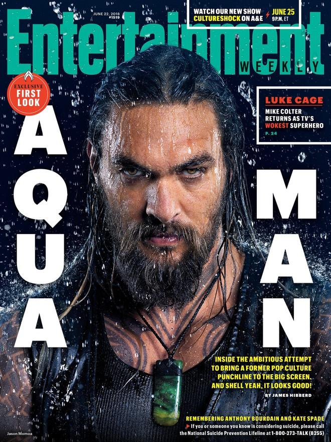 """""""Aquaman"""" cuối cùng cũng chịu tung ảnh quảng bá ướt át vừa hấp dẫn vừa chất - ảnh 1"""