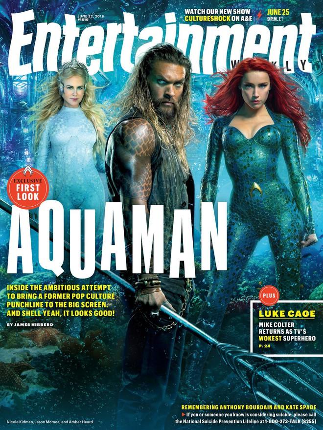 """""""Aquaman"""" cuối cùng cũng chịu tung ảnh quảng bá ướt át vừa hấp dẫn vừa chất - ảnh 4"""