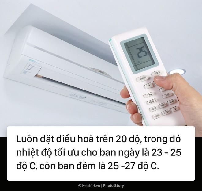 Áp dụng ngay 10 cách sau đây để sử dụng điều hòa vừa tiết kiệm điện, vừa đảm bảo sức khỏe 1