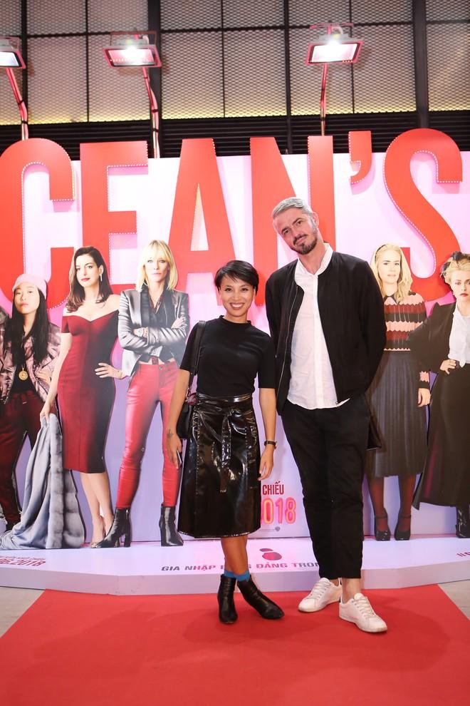 Cô trò Minh Tú - Khánh Linh diện đồ hở chặt chém đi xem phim của dàn chị đại Ocean's 8 - ảnh 19
