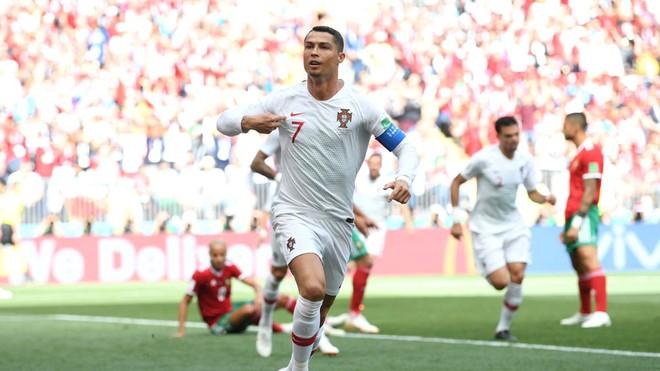 Ronaldo phá thêm một kỷ lục sau bàn thắng vào lưới Morocco 1