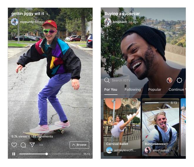 Instagram tung ra IGTV: Mạng xã hội video riêng, chỉ cho up video dọc, chính thức tuyên chiến YouTube - Ảnh 2.