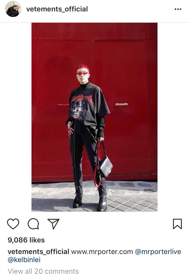 Sau đi đã like chán ảnh Châu Bùi, Giám đốc sáng tạo của Louis Vuitton bắt đầu like đến Kelbin Lei - ảnh 4