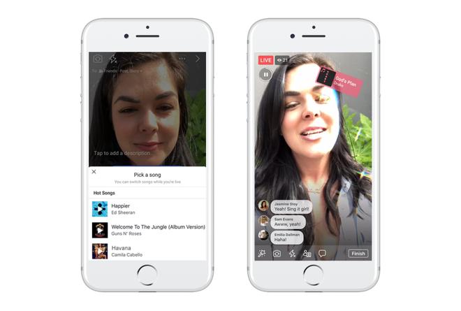 Facebook sắp cho mở liveshow hát nhép giống Muvik và Tik Tok - Ảnh 1.
