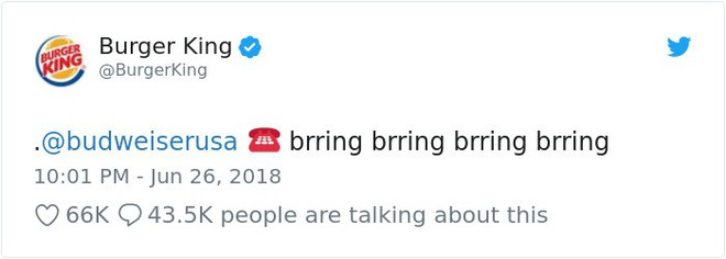 Burger King hò hét cãi nhau loạn xì với Budweiser trên mạng xã hội, cư dân mạng ngớ người khi biết sự thật - Ảnh 1.