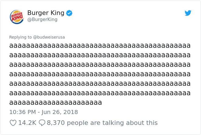 Burger King hò hét cãi nhau loạn xì với Budweiser trên mạng xã hội, cư dân mạng ngớ người khi biết sự thật - Ảnh 13.