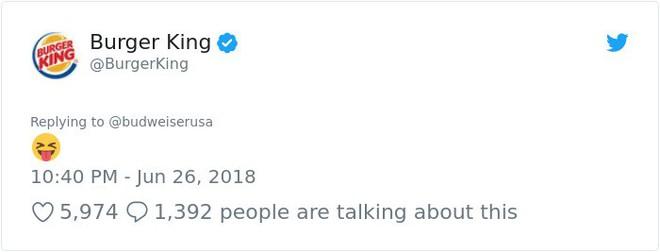 Burger King hò hét cãi nhau loạn xì với Budweiser trên mạng xã hội, cư dân mạng ngớ người khi biết sự thật - Ảnh 15.