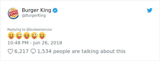 Burger King hò hét cãi nhau loạn xì với Budweiser trên mạng xã hội, cư dân mạng ngớ người khi biết sự thật - Ảnh 17.