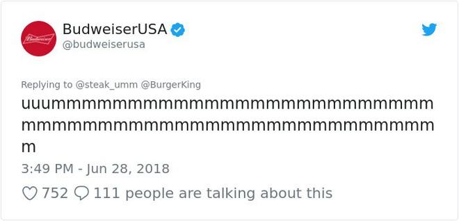 Burger King hò hét cãi nhau loạn xì với Budweiser trên mạng xã hội, cư dân mạng ngớ người khi biết sự thật - Ảnh 25.