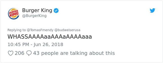 Burger King hò hét cãi nhau loạn xì với Budweiser trên mạng xã hội, cư dân mạng ngớ người khi biết sự thật - Ảnh 34.