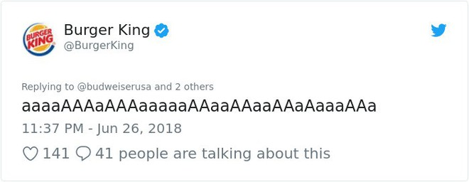 Burger King hò hét cãi nhau loạn xì với Budweiser trên mạng xã hội, cư dân mạng ngớ người khi biết sự thật - Ảnh 41.