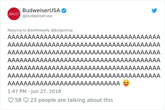 Burger King hò hét cãi nhau loạn xì với Budweiser trên mạng xã hội, cư dân mạng ngớ người khi biết sự thật - Ảnh 43.