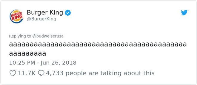 Burger King hò hét cãi nhau loạn xì với Budweiser trên mạng xã hội, cư dân mạng ngớ người khi biết sự thật - Ảnh 9.