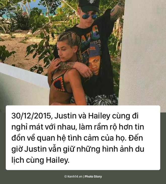 Nhìn lại chặng đường yêu đương thăng trầm của cặp đôi Justin Bieber và Hailey Baldwin - Ảnh 7.