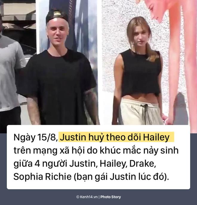 Nhìn lại chặng đường yêu đương thăng trầm của cặp đôi Justin Bieber và Hailey Baldwin - Ảnh 11.