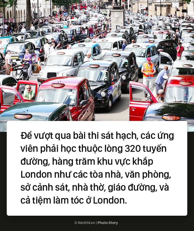 London: Trở thành tài xế taxi khó khăn như thể đi thi đại học - ảnh 3