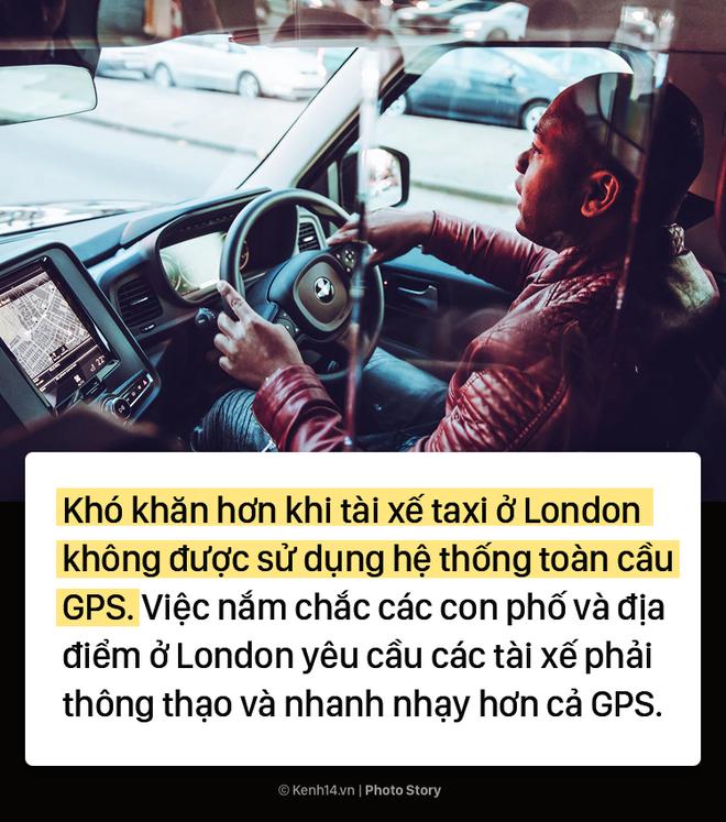 London: Trở thành tài xế taxi khó khăn như thể đi thi đại học - Ảnh 9.