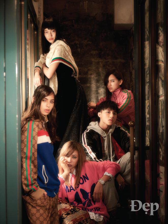 Sơn Tùng MTP vẫn bảnh và chất, chẳng kém cạnh loạt fashionista nổi tiếng châu Á trong bộ hình của Gucci  - Ảnh 5.