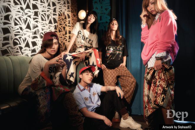 Sơn Tùng MTP vẫn bảnh và chất, chẳng kém cạnh loạt fashionista nổi tiếng châu Á trong bộ hình của Gucci  - Ảnh 4.