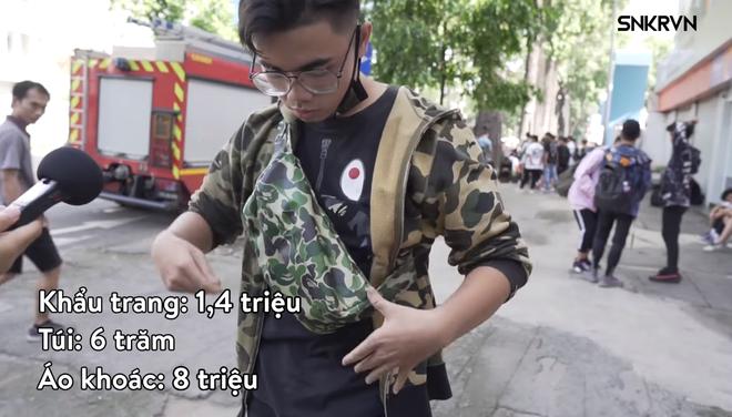 Bên lề clip khoe giá đồ tại Sneaker Fest: Các bạn trẻ Việt mặc đồ hiệu đẹp hay chưa? - ảnh 8