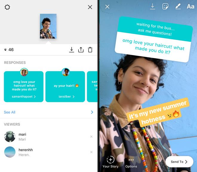 Instagram update Stories mời mọc thả thính, hỏi riêng tư nhưng lại trả lời công khai - ảnh 2
