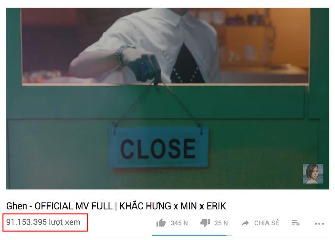 Sau gần 1 tuần biến mất, 3 MV đình đám của Min đã quay trở lại Youtube với lượt view nguyên vẹn - Ảnh 4.