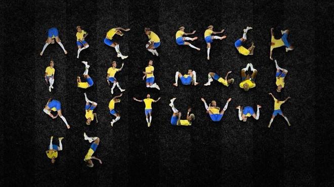 Đẳng cấp chế: 26 tư thế lăn lộn của Neymar thành bảng chữ cái - ảnh 1