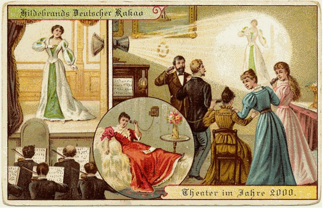 Năm 1900 người ta đã từng mơ tưởng về thế giới tương lai của năm 2000 ảo diệu đến thế này - ảnh 5