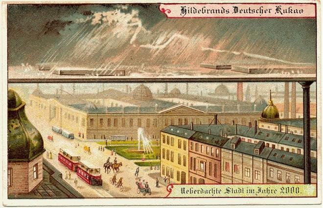 Năm 1900 người ta đã từng mơ tưởng về thế giới tương lai của năm 2000 ảo diệu đến thế này - ảnh 10