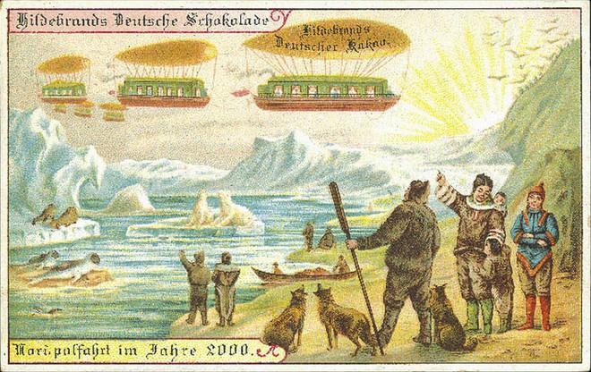 Năm 1900 người ta đã từng mơ tưởng về thế giới tương lai của năm 2000 ảo diệu đến thế này - ảnh 9