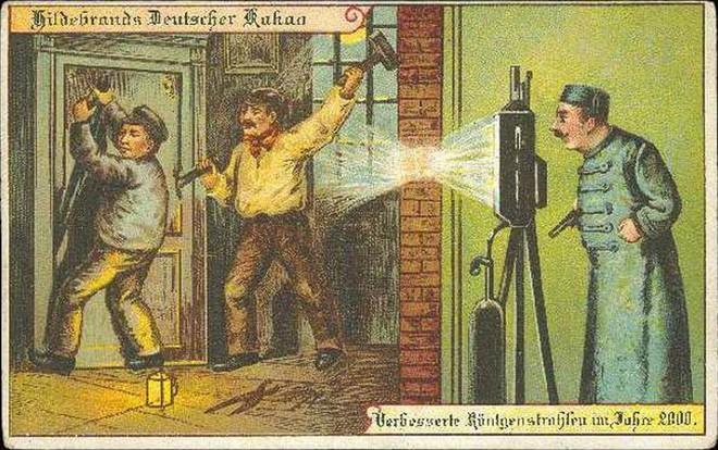 Năm 1900 người ta đã từng mơ tưởng về thế giới tương lai của năm 2000 ảo diệu đến thế này - ảnh 12