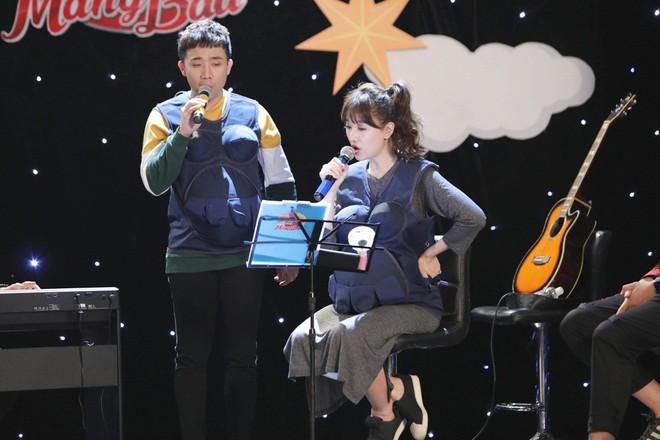 Khi đàn ông mang bầu: Trấn Thành - Hari Won chiến thắng khi sáng tác và hát ca khúc của riêng mình - Ảnh 9.
