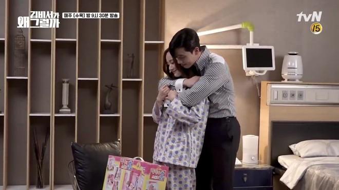 Thư Ký Kim: Đóng cảnh ôm thôi mà Park - Park đã thấy nóng trong người, tình ý gì đây? - ảnh 1