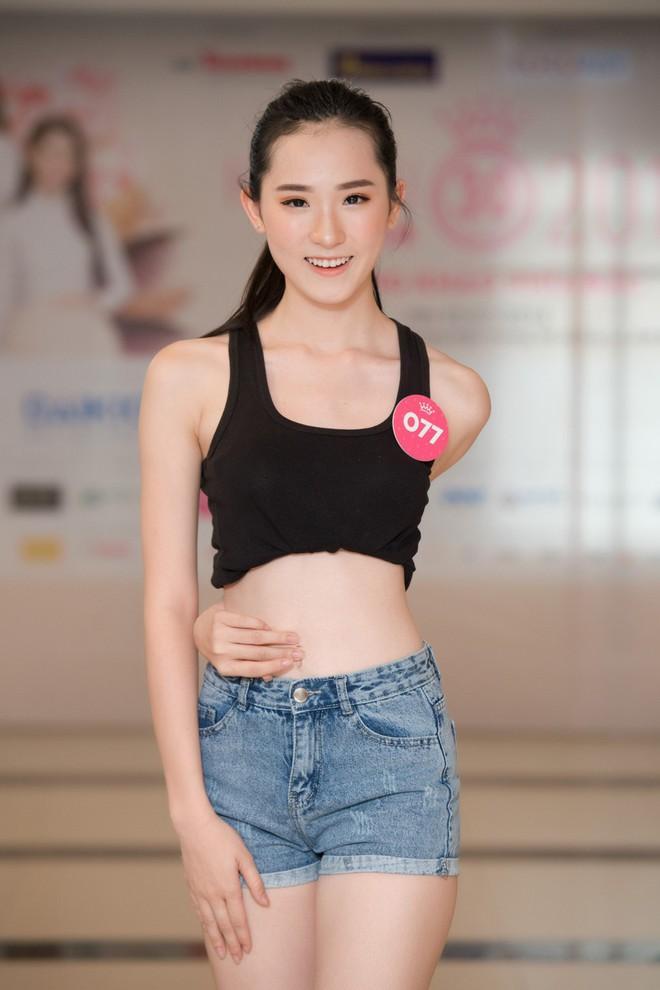Dàn thí sinh Hoa hậu Việt Nam 2018 phía Bắc khoe eo thon, ráo riết tập luyện cho đêm Chung khảo - ảnh 8