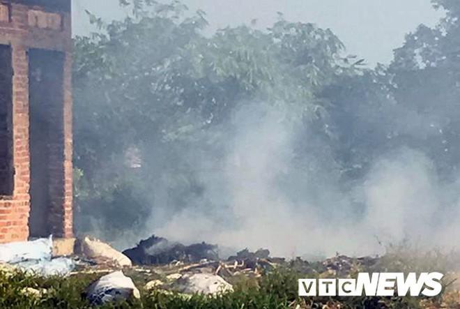 Ảnh: Dân Hải Phòng khốn khổ vì bị khói đốt phế thải công nghiệp bủa vây - ảnh 1