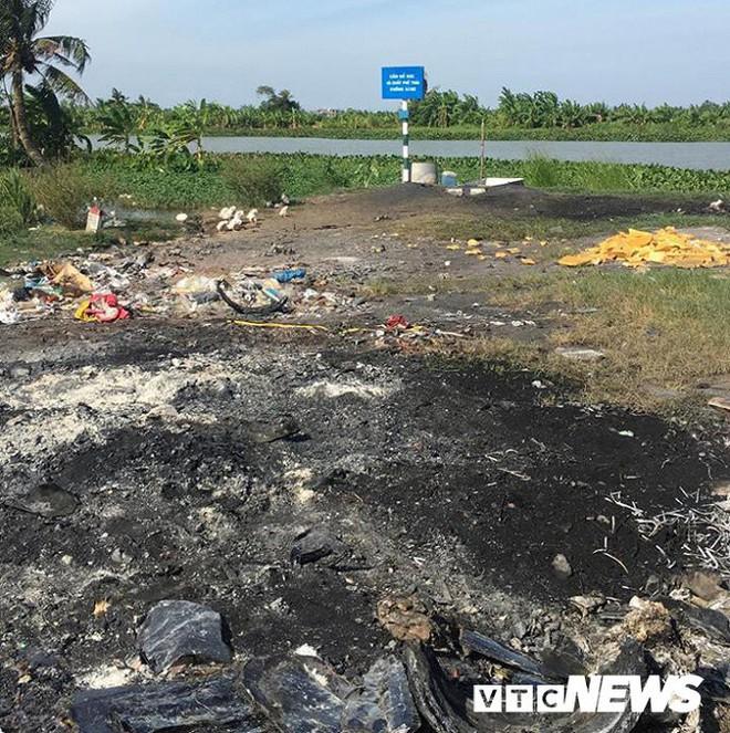 Ảnh: Dân Hải Phòng khốn khổ vì bị khói đốt phế thải công nghiệp bủa vây - ảnh 12