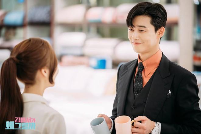 Thư Ký Kim: Đóng cảnh ôm thôi mà Park - Park đã thấy nóng trong người, tình ý gì đây? - ảnh 15