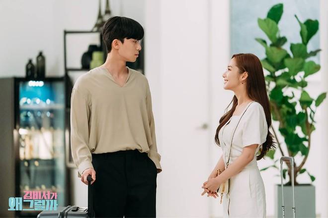 Thư Ký Kim: Đóng cảnh ôm thôi mà Park - Park đã thấy nóng trong người, tình ý gì đây? - ảnh 17