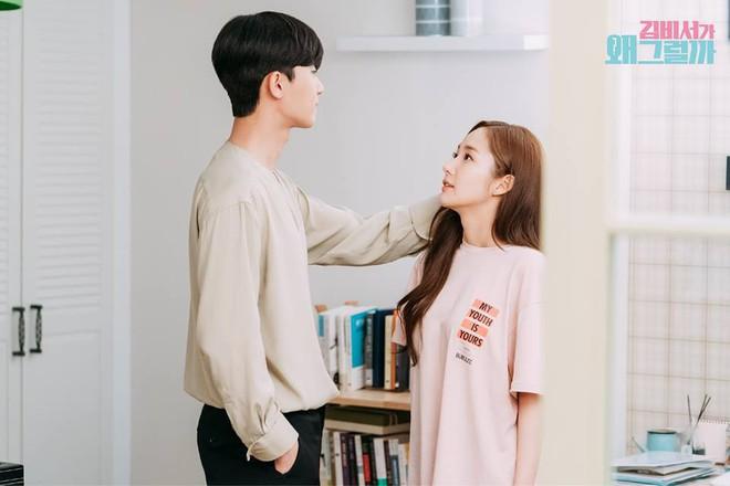 Thư Ký Kim: Đóng cảnh ôm thôi mà Park - Park đã thấy nóng trong người, tình ý gì đây? - ảnh 18