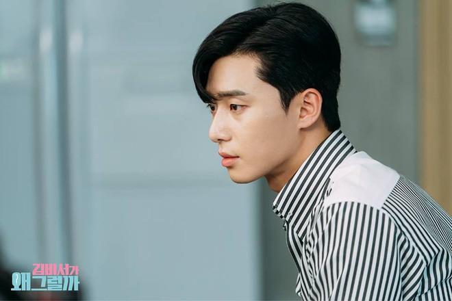 Thư Ký Kim: Đóng cảnh ôm thôi mà Park - Park đã thấy nóng trong người, tình ý gì đây? - ảnh 19