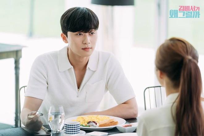 Thư Ký Kim: Đóng cảnh ôm thôi mà Park - Park đã thấy nóng trong người, tình ý gì đây? - ảnh 21