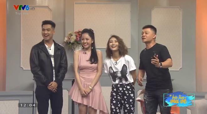 PewPew từ Sài Gòn ra Hà Nội tỏ tình với Trâm Anh lần nữa trên sóng truyền hình trực tiếp và cái kết - ảnh 3