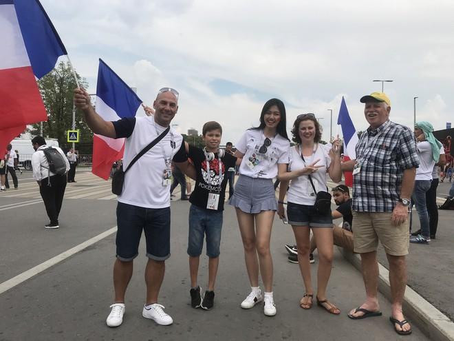 Siêu mẫu Thu Hằng, Á hậu Thanh Tú sang Nga xem chung kết World Cup 2018 - ảnh 4