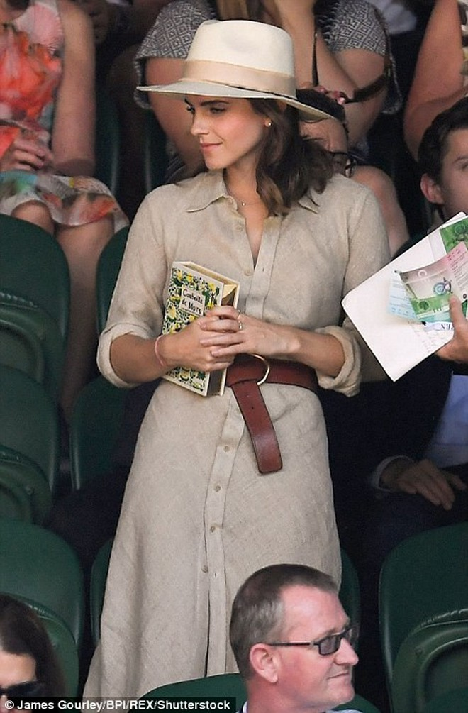 Emma Watson xuất hiện cực xinh đẹp, cười đùa thân thiết bên tài tử điển trai - ảnh 8