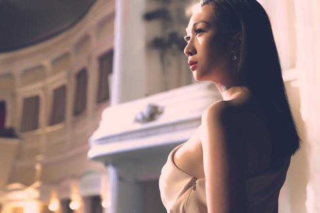 Hậu công khai phẫu thuật thẩm mĩ, Lều Phương Anh tái xuất xinh đẹp trong MV lấy cảm hứng từ Celine Dion - Ảnh 3.