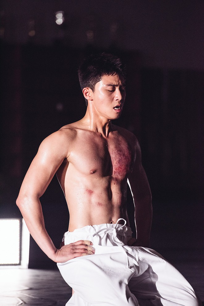 6 lần Phó Chủ tịch Park Seo Joon đốt mắt bà con bằng body đẹp phát ngợp - ảnh 17