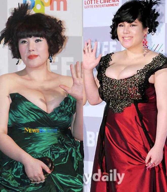Những khoảnh khắc gây sốc đi vào lịch sử thảm đỏ Kbiz: Sao vô danh chiêu trò hở bạo, Goo Hye Sun bỗng lọt top - Ảnh 14.