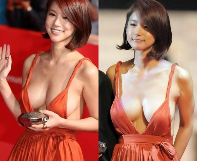 Những khoảnh khắc gây sốc đi vào lịch sử thảm đỏ Kbiz: Sao vô danh chiêu trò hở bạo, Goo Hye Sun bỗng lọt top - Ảnh 2.
